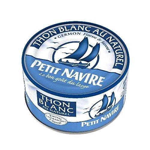Petit Navire thon blanc naturel 1/6 93g - ( Prix Unitaire ) - Envoi Rapide Et Soignée