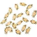1/12 Dollhouse 20pcs Mínimos Tiradores Manijas Perillas De Metal De Cajón -- De Color Oro