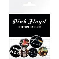 Pink Floyd - Logos, 4 X 25mm & 2 X 32mm Chapas Set De Chapas (15 x 10cm)