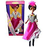 Mattel Year 1996 Barbie Collector Edition Dolls of the World Collection Series 12 Inch Doll - Second Edition FRENCH Barbie Doll with Dress, Tights, Hat, Boots, Necklace, Labeled Doll Stand and Hair Brush