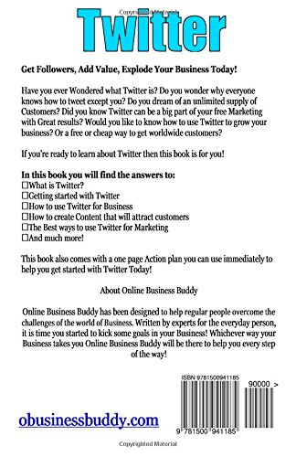 Twitter: Get Followers, Add Value, Explode Your Business Today!