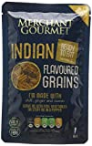 Merchant Gourmet Indian Flavoured Grains 125 g (Pack of 6)