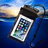 YouN Strong 3 Layer Sealing Waterproof Smart Phone Pouch for Water Sport(Black)