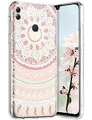 Robinsoni Cover per Huawei Honor 8X Max Cover Silicone Huawei Honor 8X Max Case Trasparente Custodia in Gomma Morbido TPU Flessibile Caso Antiurto Colorato Case Ultra Sottile Anti-Graffio Bumper Cover