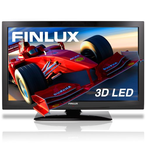 Finlux 32F7020-T 32'' 3D LED TV, Full-HD 1080p, Freeview HD, PVR & 4x 3D Glasses