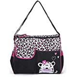 Baby Bucket Diaper Changing Bag - Leopard Pattern Multi Color