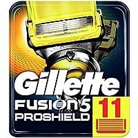 Gillette Fusion Proshield Flexball Cuchillas de Afeitar para Hombre - 11 unidades