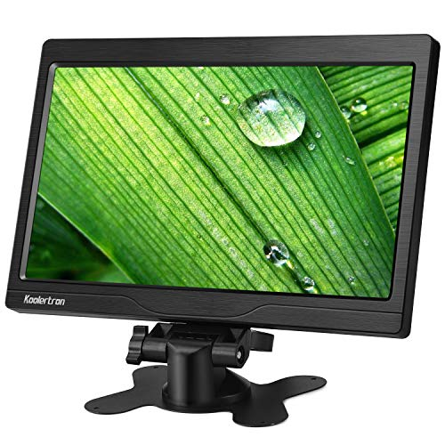 Koolertron Monitor CCTV de 10.1 Pulgadas Monitor LCD de 1024 * 600...