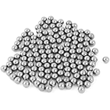 150 piezas de carbono bicicleta de acero endurecido cojinete de bolas 5 mm Gris