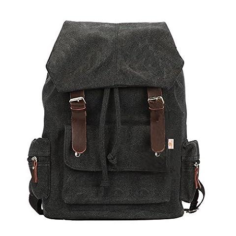 unisex vintage bag classic backpack casual canvas bag travel school shoulder Bag Bookbag ipad bag messenger bag for teenage