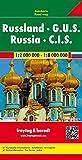 Russland - G.U.S., Autokarte 1:2.000.000 - 1.8.000.000, freytag & berndt Auto+Freizeitkarten - Freytag-Berndt und Artaria KG