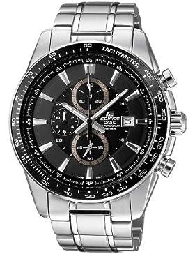 Casio Edifice – Herren-Armbanduhr mit Analog-Display und Massives Edelstahlarmband – EF-547D-1A1VEF