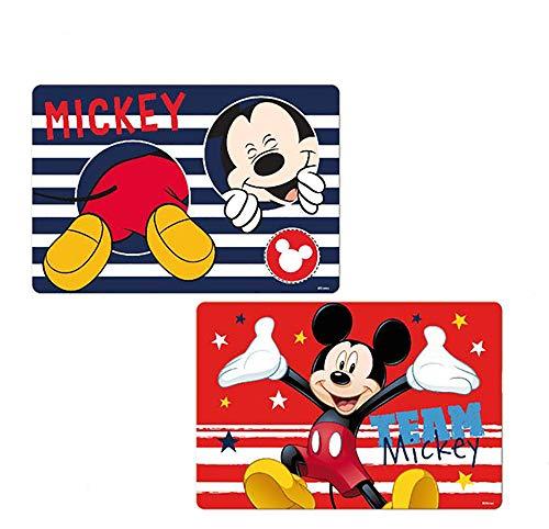 Disney Mickey Maus Lr0483 Tisch Matte 3d Effekt 2er Set