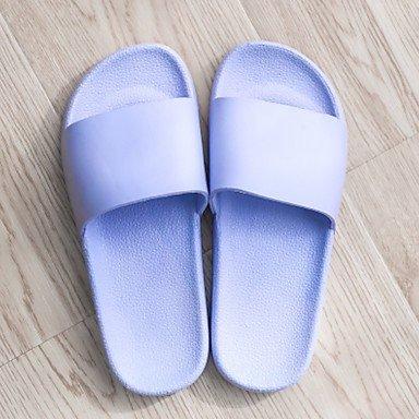 LQXZM Unisex Hausschuhe &Amp; Flip-Flops Frühling Sommer Komfort PVC Casual flachem Absatz Light Purple