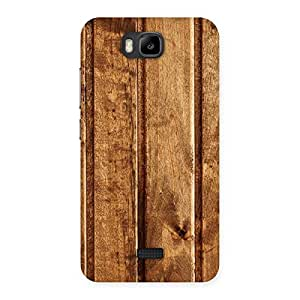 Wood Texture Back Case Cover for Honor Bee