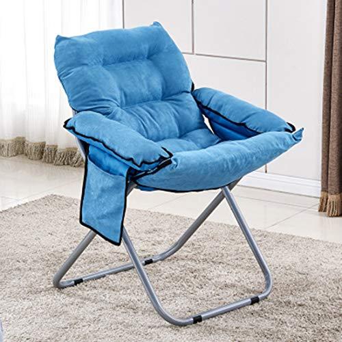 Inys-C Tragbare klappstuhl, Lounge Stuhl, Schlafzimmer Stuhl, mond Stuhl,Blue,Chair - Schlafzimmer Baldachin Möbel