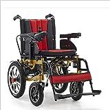 AA100 Intelligente Elettrico Pieghevole Carrozzina di Sicurezza Design in Acciaio al Titanio Cura del Corpo per Gli Anziani disabili