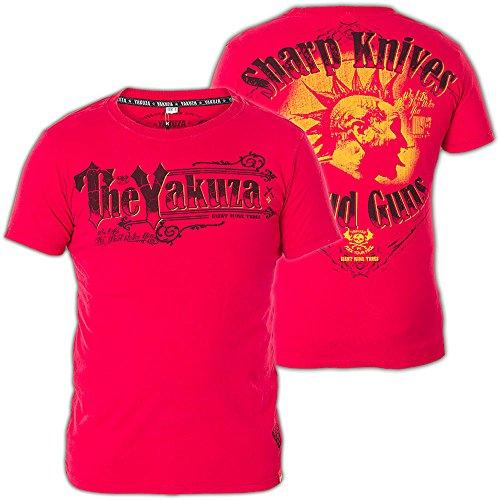 Yakuza T-Shirt TSB-409 Rot Rot