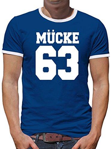 TLM Mücke 63 Kontrast T-Shirt Herren M (Geschenke Spencers Kostüme)
