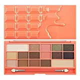 Makeup Revolution Eyeshadow Palette I Heart Makeup Chocolate and Peaches