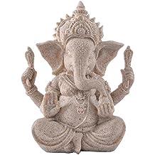 Tallado Elefante Arte Escultura Estatuilla Mano Decoración Hogar Vendimia