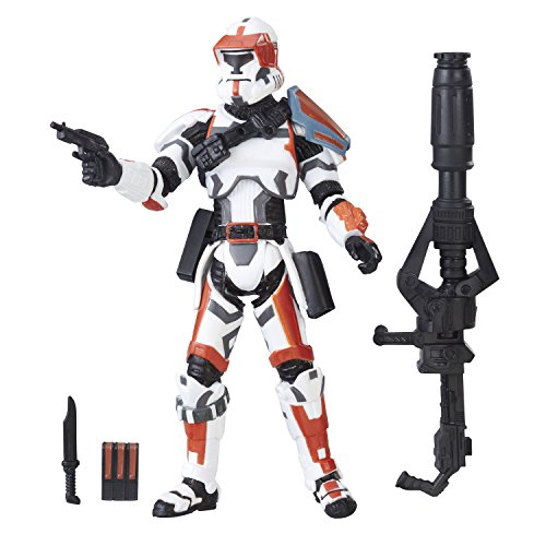 (Star Wars Hasbro – A9100 The Black Series – Republic Trooper (The Old Republic) – 10cm Action Figur, Sehr detailliert und mit beweglichen Gelenken)