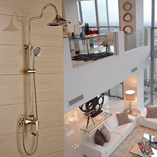 ZHFC-Bad-Accessoires doccia doccia insieme pieno di rame bagno doccia doccia ugello Set bagno Caldo Freddo rubinetto doccia insieme