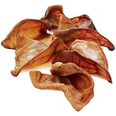 Extra Select Pigs Ears, Large, Pack of 50