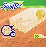 Swiffer Dry 36 Panni Catturapolvere per Legno