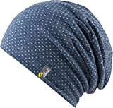 Florence - trendige leichte Mütze für Damen und Herren - unisex (blue / white)