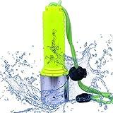 JUDYelc Profi Tauchen Taschenlampe Starke Licht Tauchen Fackel Unterwasser Wasserdicht Super Bright Charge weit Shoot Lighting
