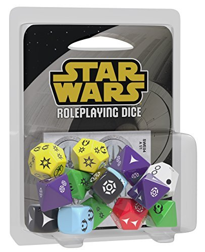Fantasy Flight Games- Star Wars: Edge of The Empire RPG Dice Pack, Color (EDGSWE04)