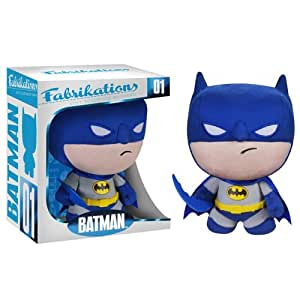 "Fabrikations Batman Plush Soft Sculpture Plush 6"" Tall"