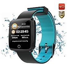CatShin Pulsera De Actividad Inteligente-CS07 Smartwatch Pulsera Deportiva Hombre Mujer IP67 Reloj Inteligente con