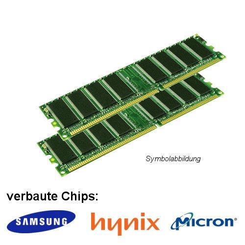 2GB (2x 1GB) DDR 400MHz (PC 3200U) LO Dimm Computer PC Desktop Arbeitsspeicher RAM Memory Samsung Hynix Micron -