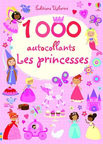 1000 autocollants - Les princesses