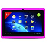 "Takara MID77P Tablette tactile 7"" (17,78 cm) Boxchip A12 1,2 GHz 4 Go Android Wi-Fi Rose"