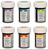 Kit colorant alimentaire gel concentré - 6 x 28g - Wilton