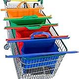 THEE Wiederverwendbare Einkaufswagentaschen passt alle Lebensmittelgeschäfte