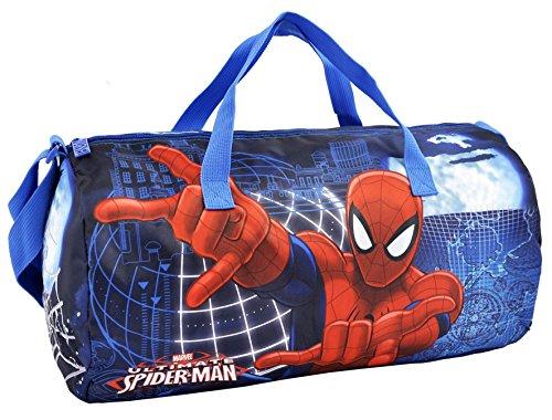 Bolsa Deporte Spiderman Blue 43x24x24cm