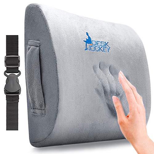 Desk Jockey Lendenkissen Therapeutisch Einsetzbare Rückenstütze Für Schmerzen Im Unteren Rücken, Bürostuhl, Fahrersitz Rückenstützkissen