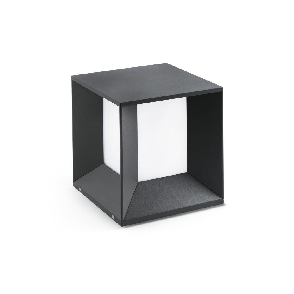 Faro 70771 - MILA LED Lampada sopra muro grigio scuro