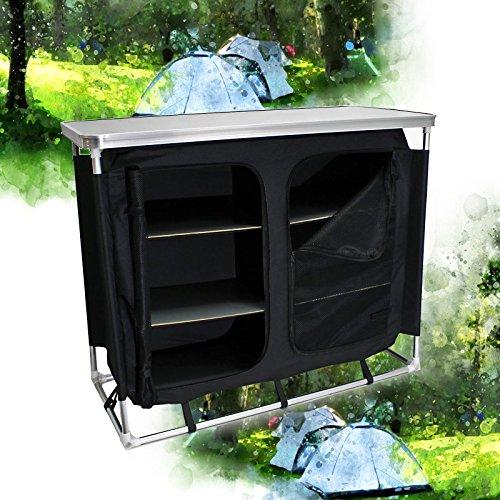 Armario camping plegable Cocina camping Armario tienda campaña Accesorios camping Outdoor Vacaciones