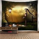 mmzki Animal tapiz casero tapiz de pared decoración de pared toalla de Playa Europa y América alfombra de Playa 6 150 * 200