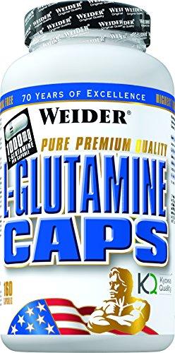 #Weider L-Glutamine Caps- 160 Kapseln, 190 g#