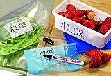 EDDING 8000 FREEZER MARKER Food Bag Marker - Permanent Frost Resistant Ink