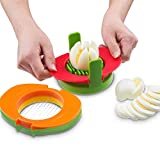 Pawaca Eierschneider, Slice hart gekochte Eier, Eierschneider in Küche Werkzeug