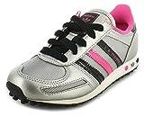 Adidas Original LA Trainer K Mädchen Sneaker Schuhe Freizeit silber/pink Q33594 (33.5)