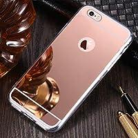 Shinyzone Überzug Spiegel Hülle für iPhone 7/iPhone 8,Luxus Spiegel Make-up Weiches Gummi [Galvanisieren Technologie... preisvergleich bei billige-tabletten.eu