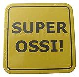 Bierdeckel mit Sprüchen - Super Ossi - 15er Packung